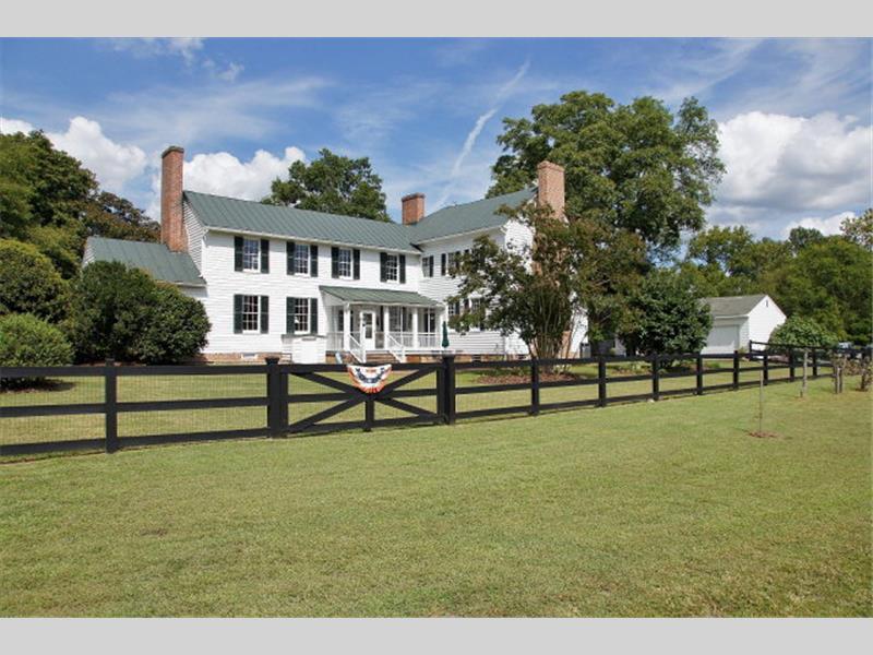 Horse Property For Sale In Williamsburg Va